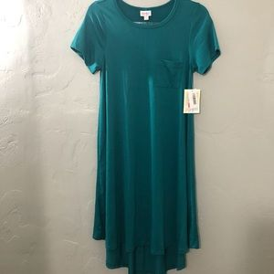 LuLaRoe Carly Dress NWT Teal